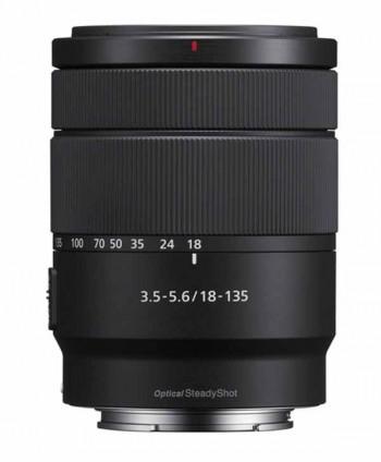 OBJETIVO SONY E 18-135mm F3.5-5.6 OSS (SEL18135)