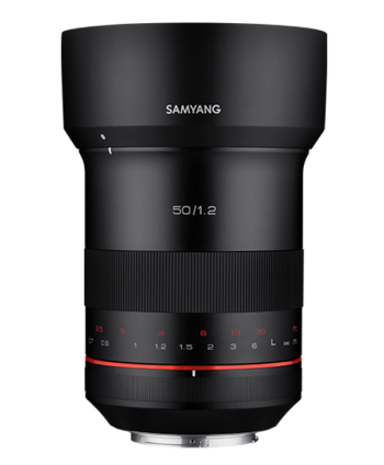 OBJETIVO SAMYANG MF XP 50mm F1.2 (CANON EF)