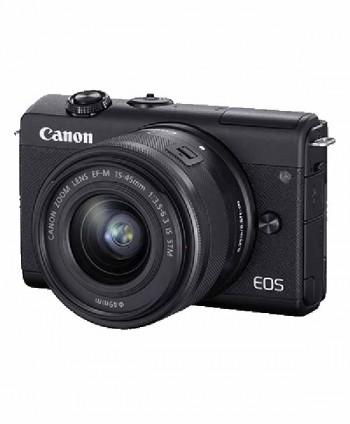 CAMARA CANON EOS M200 + EF-M 15-45 (Negro)